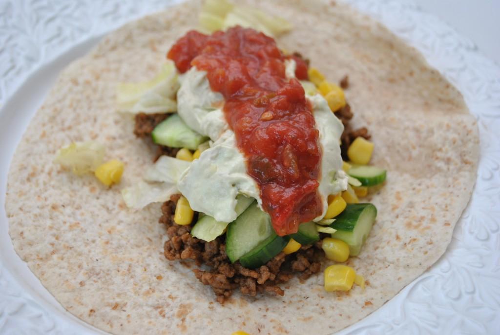 taco med lowcarbtortilla