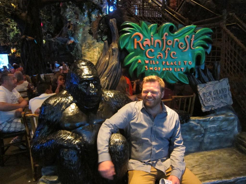 Rainforest Cafe Martin