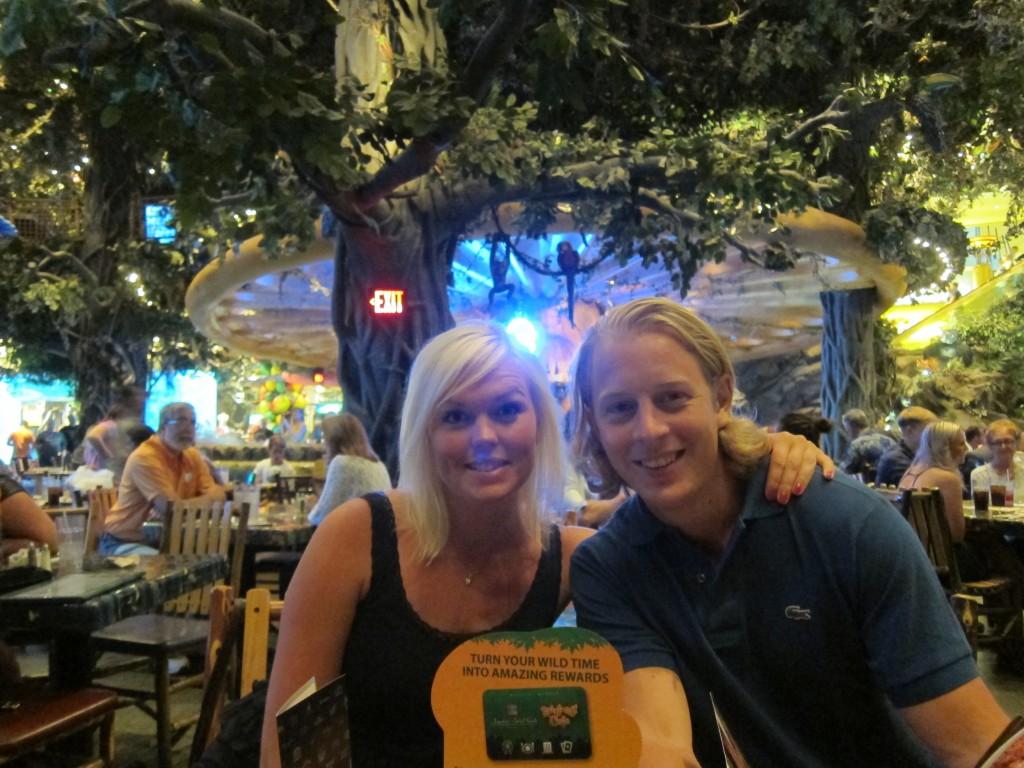 Cissi o Krille Rainforest Café LV