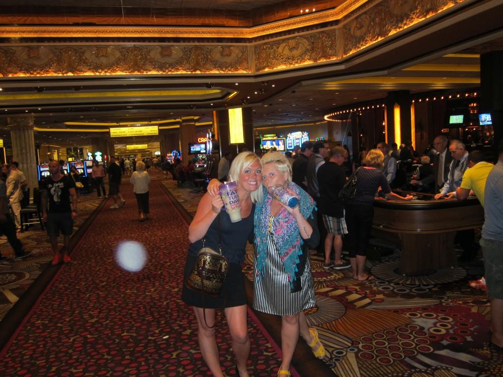 Louise och Cissi Las Vegas