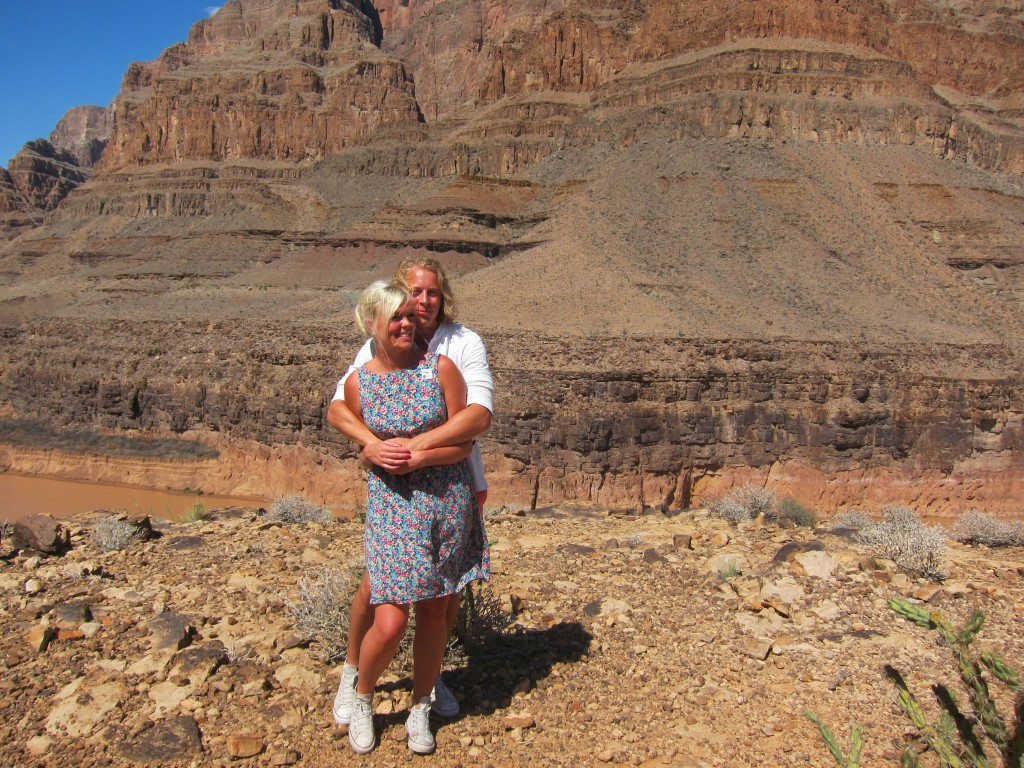 Cissi och Krille Grand Canyon