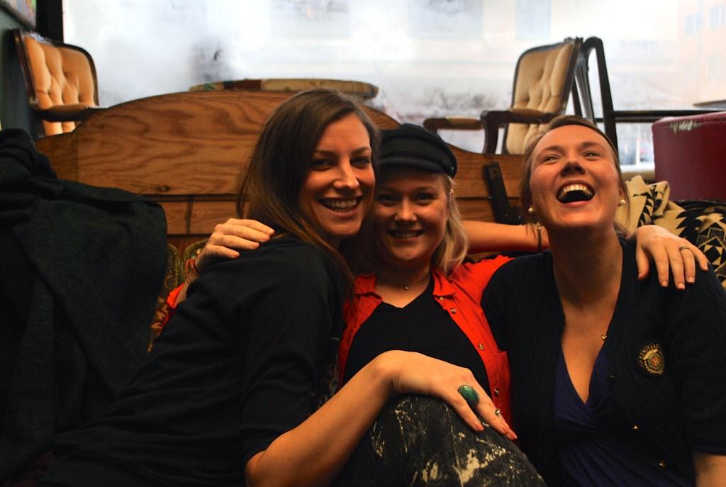 Sanna, Linn och Lisa