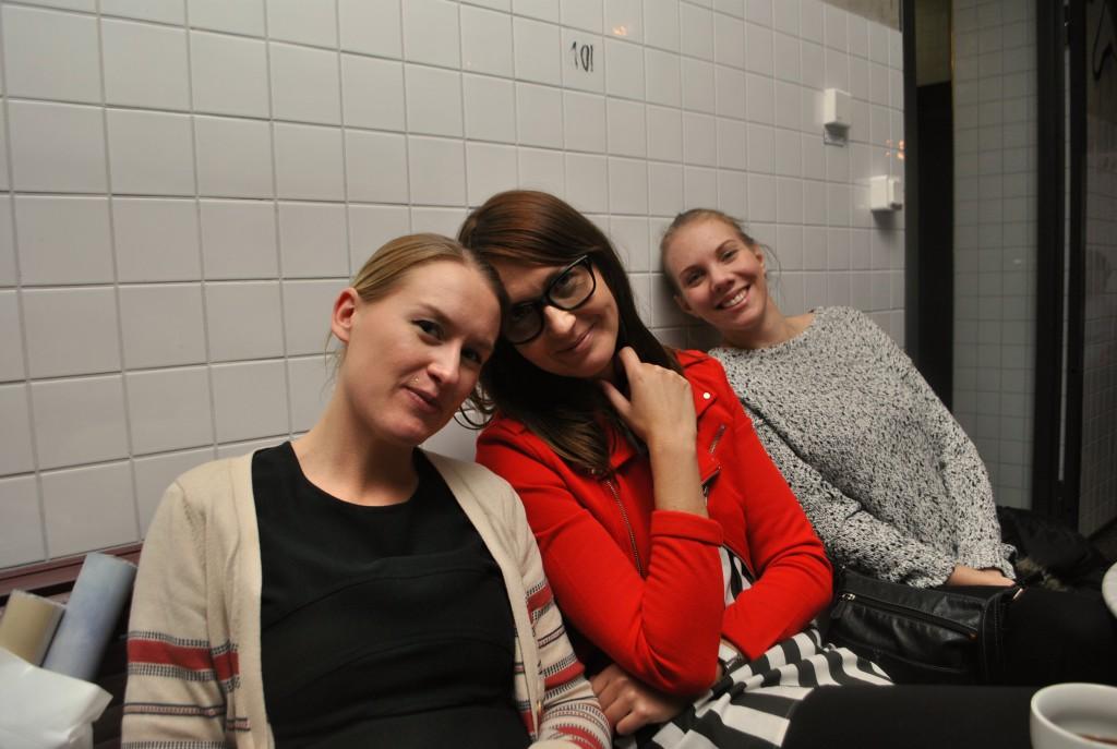 Jeanette, Helena och Sandra