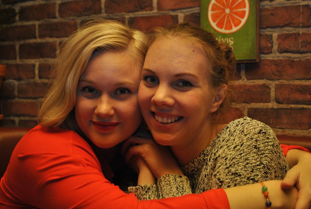 Linn och Sandra