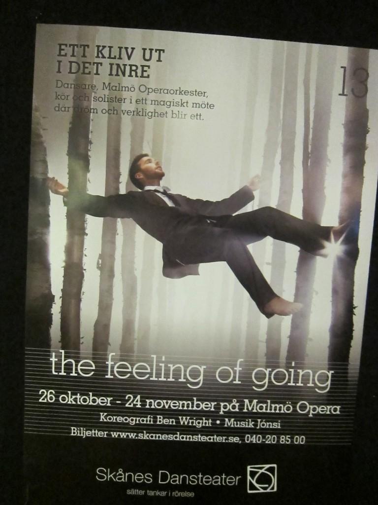 The feeling of going