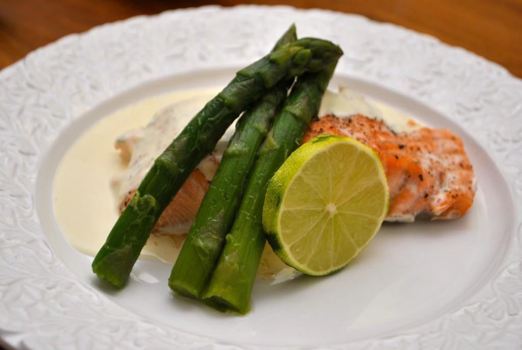 God limesås till fisk
