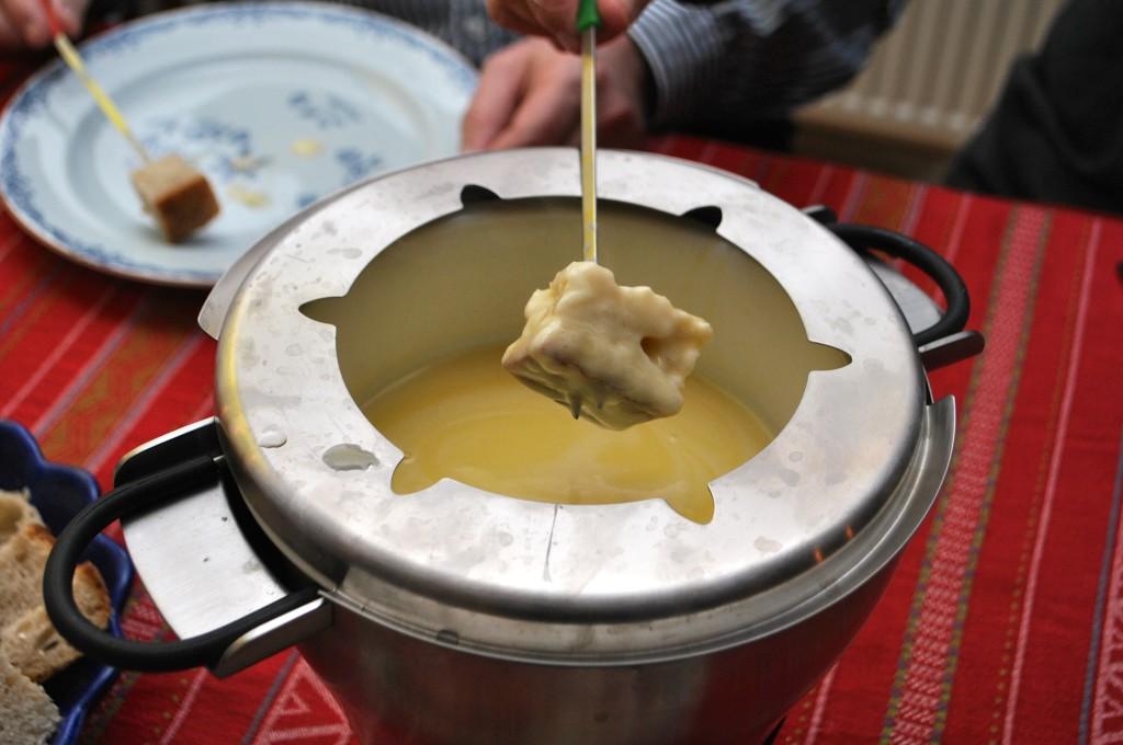 Schweizisk ostfondue