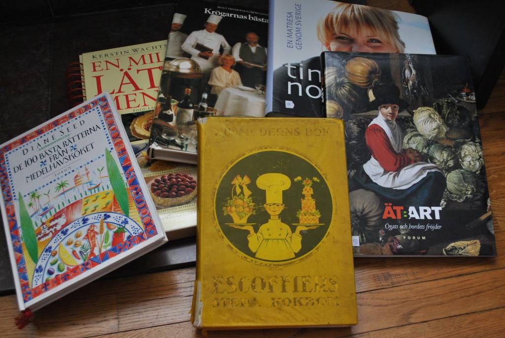 Gamla kokböcker