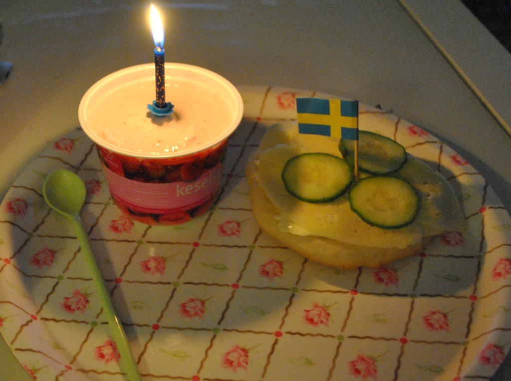 Födelsedagsfrukost