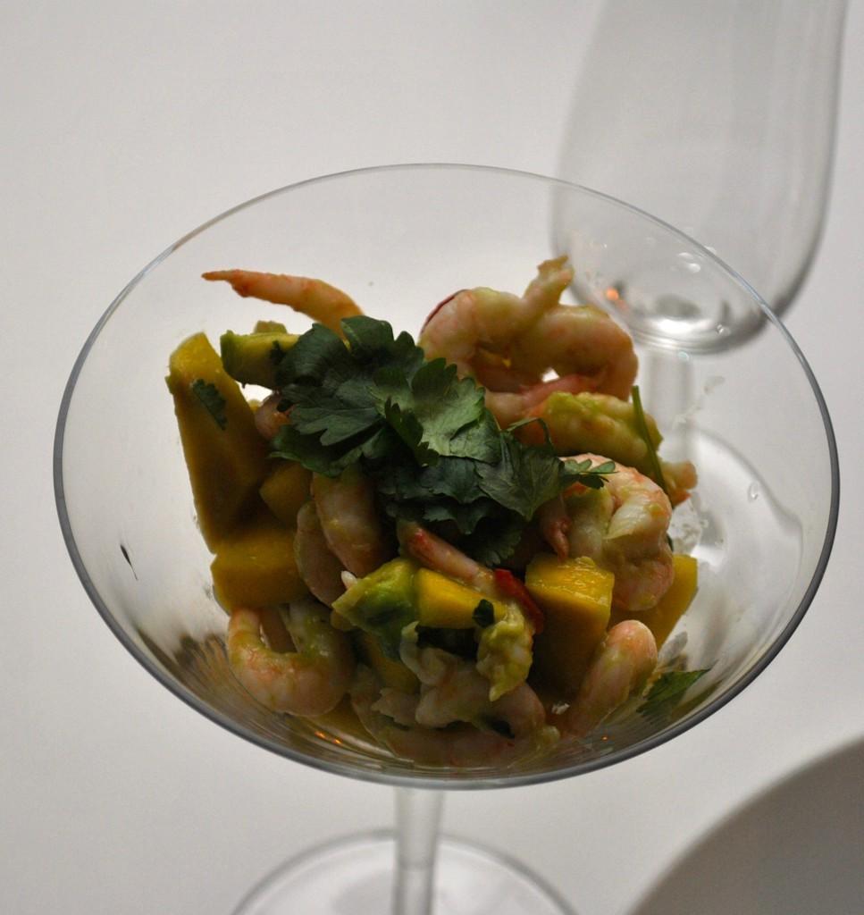 Ceviche med räkor