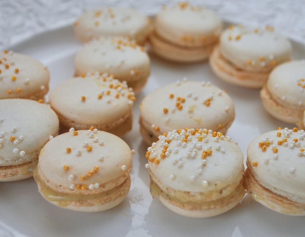 Macarons med semlesmak