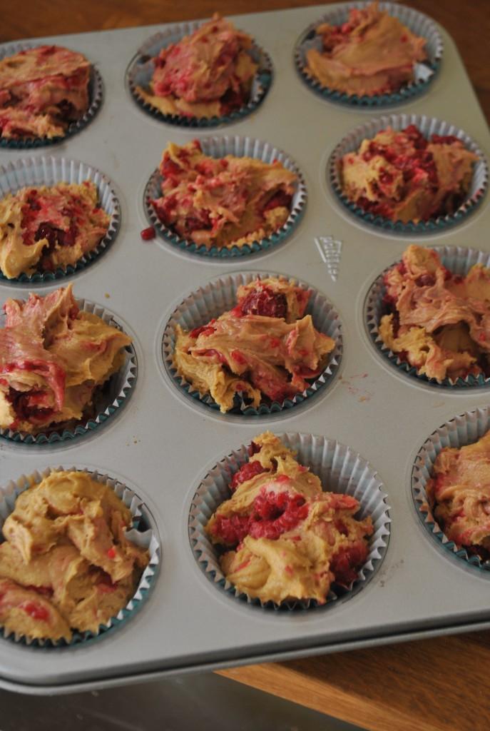 ogräddade muffins