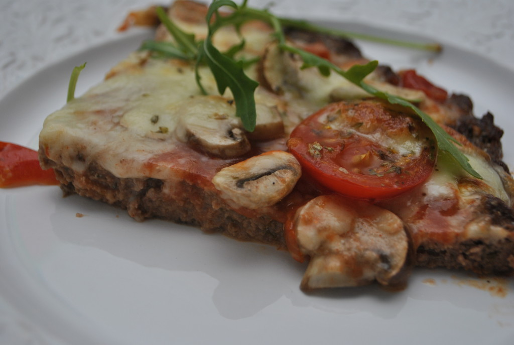 Meatza - low carb pizza