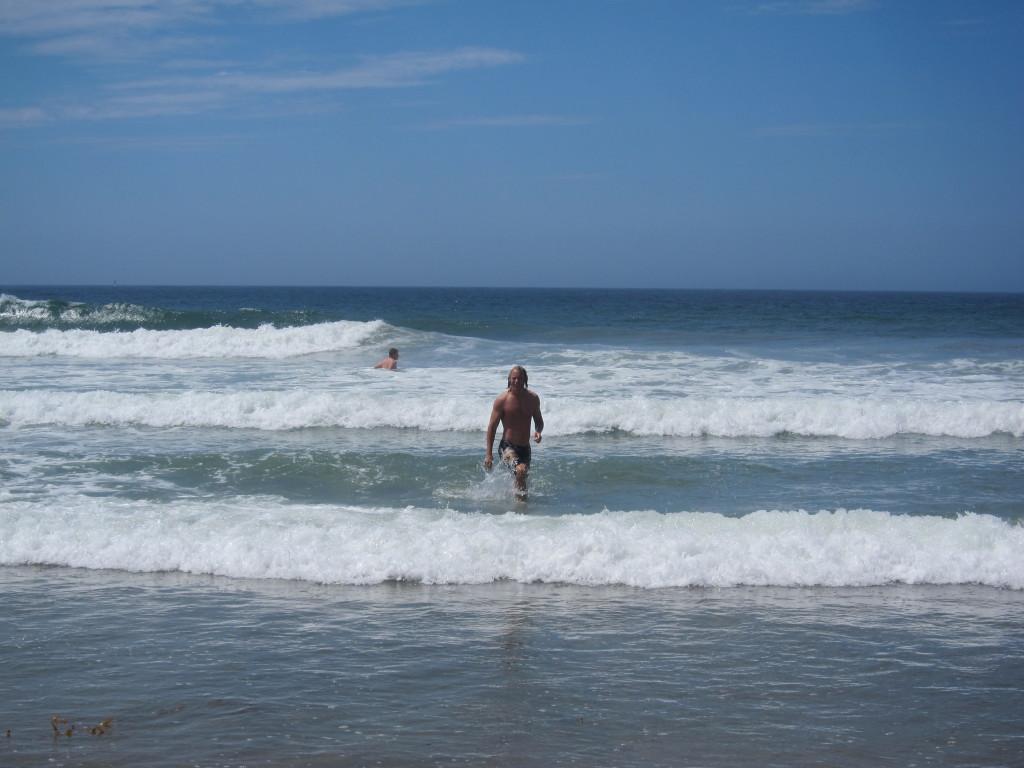 Krille i vågorna San Diego