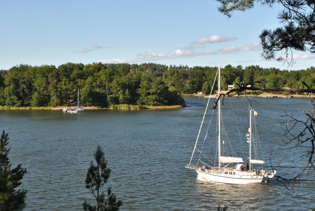 Stockholms skärgård båt