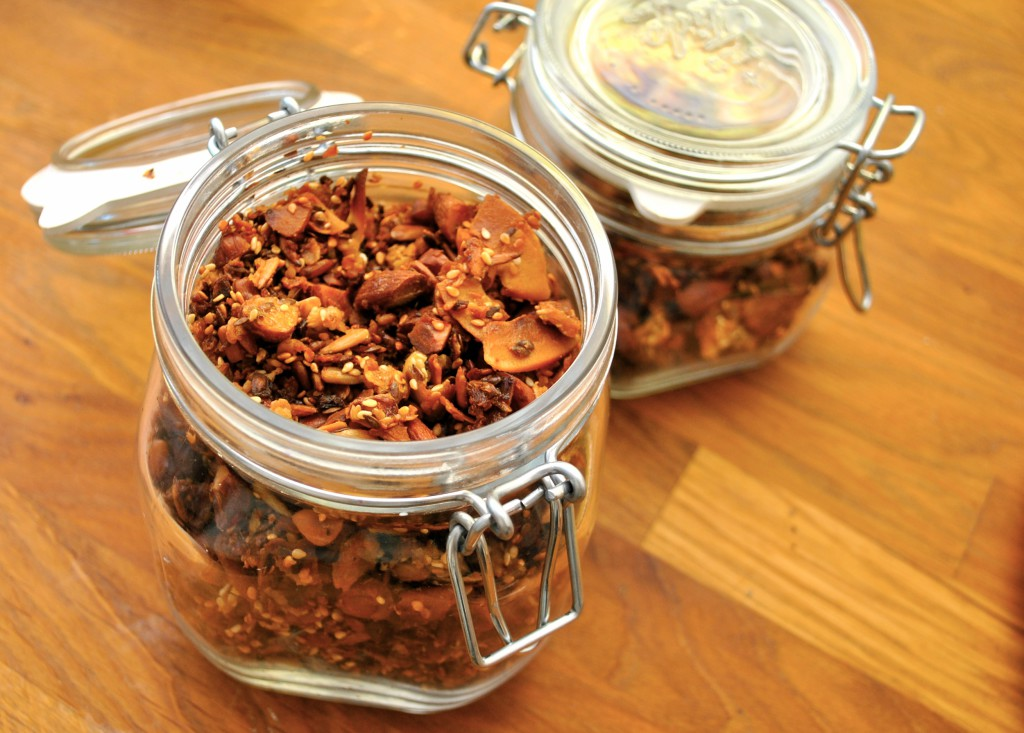Granola/müsli med kokoschips