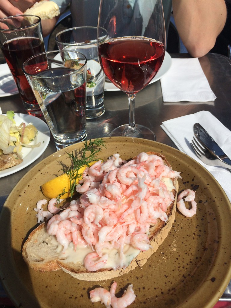 Vinlunch på stan