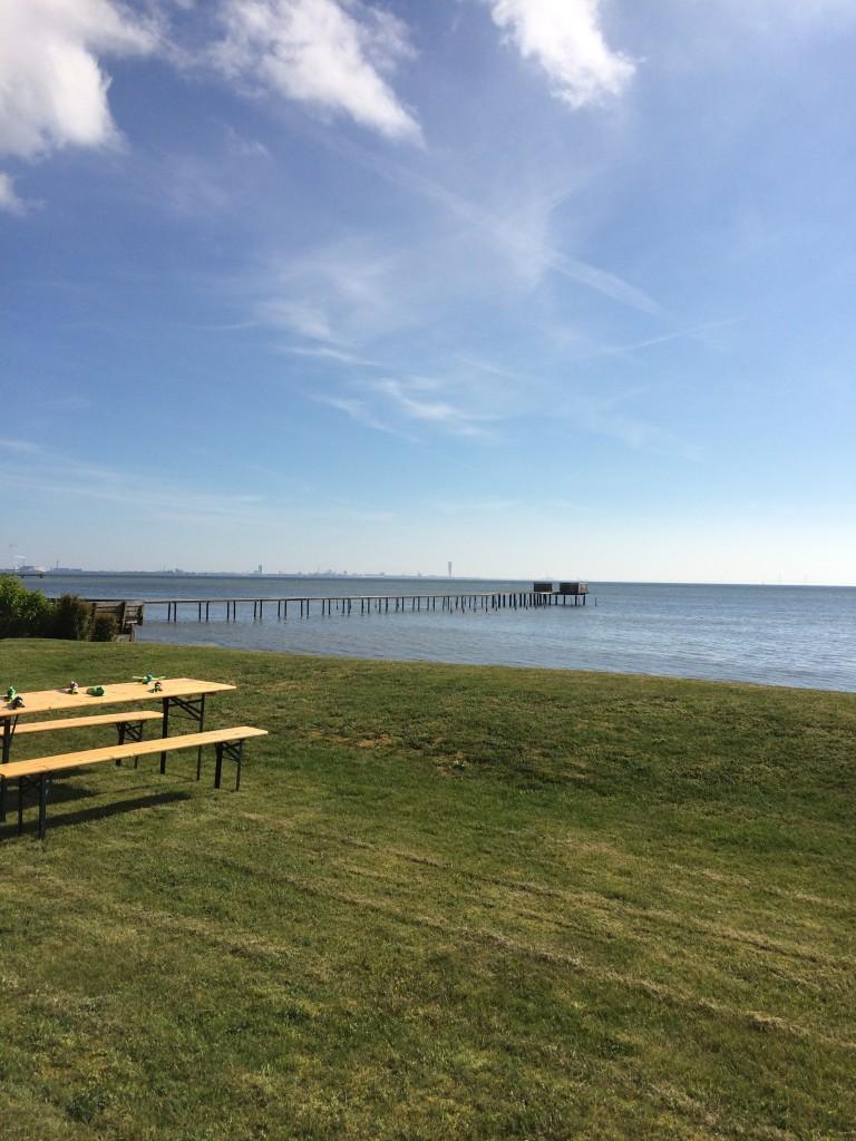 Utsikt över Öresund
