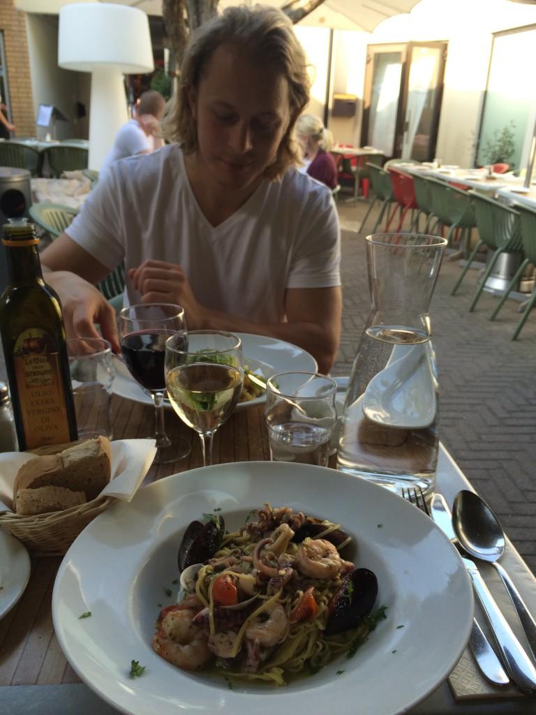 Middag med mannen