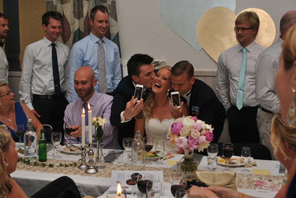 Brudgummen försvann...