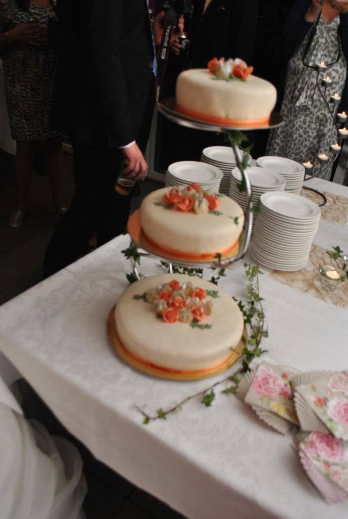 Bröllopstårta i lager