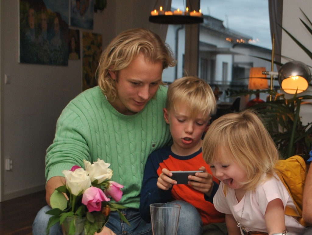 Krille, Wille och Ester