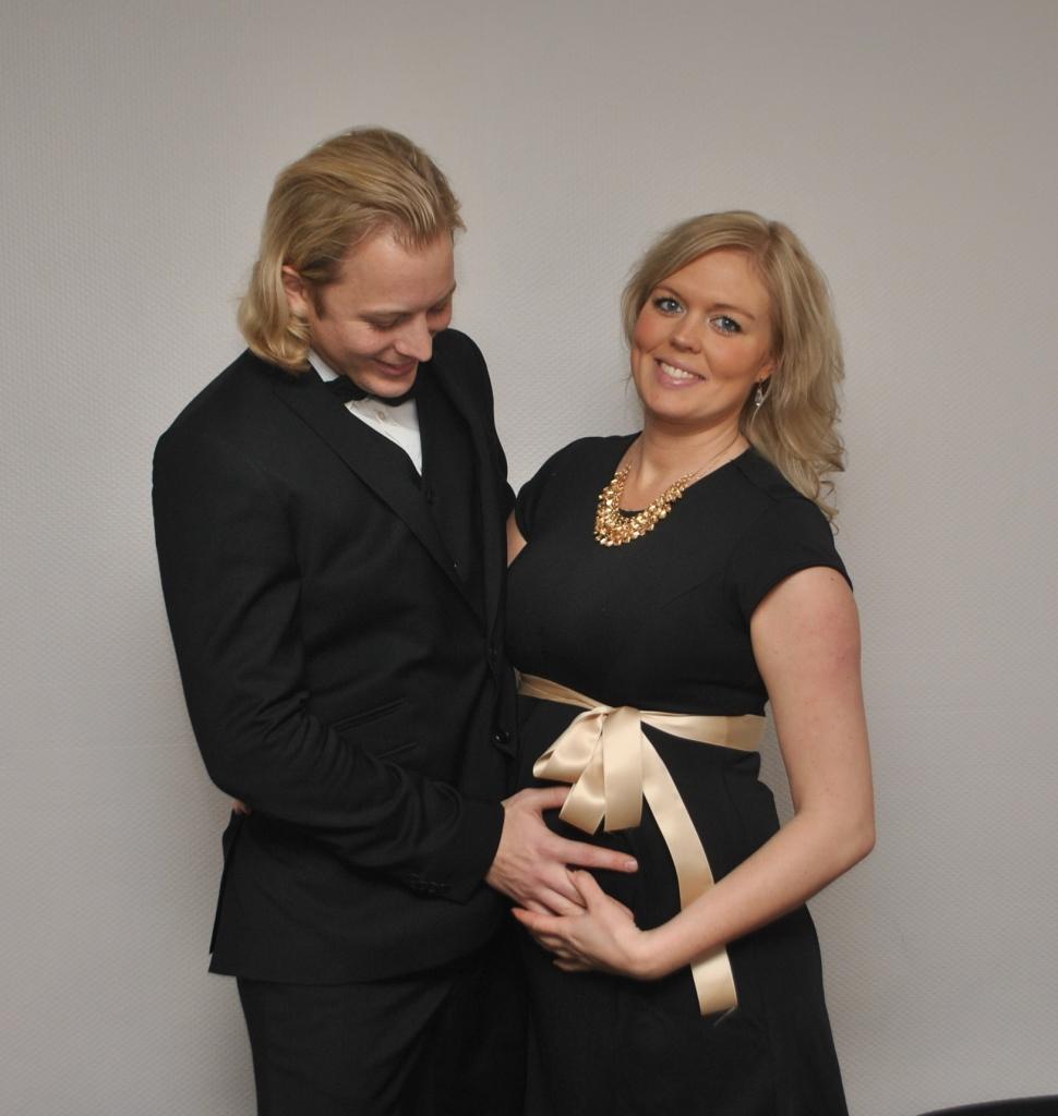 Gott nytt år, gravid v 25