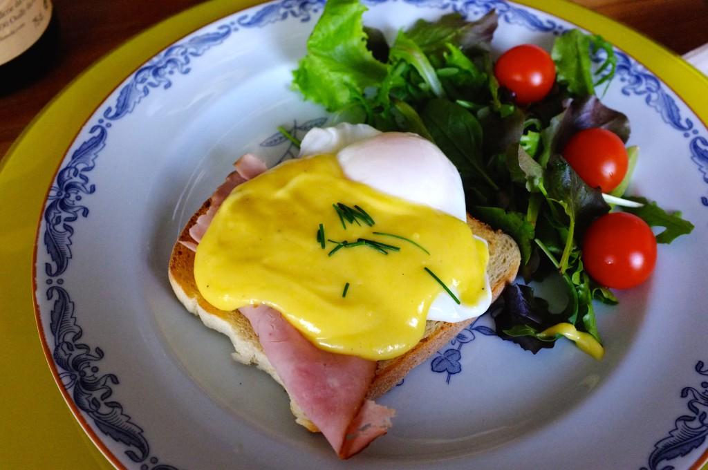 Eggs benedicte
