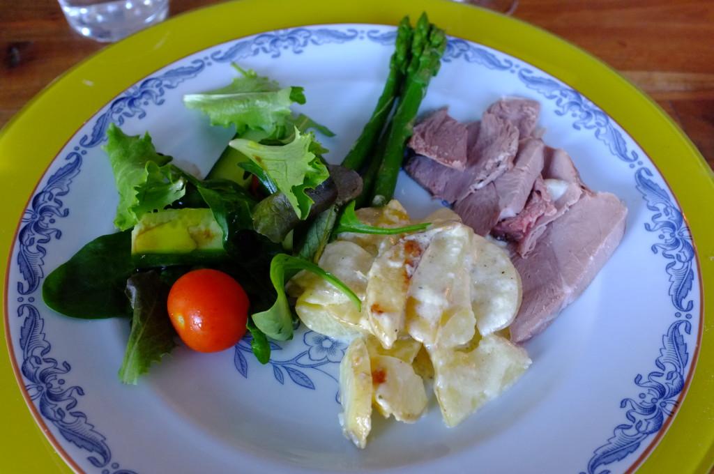 Lamm med potatisgratäng