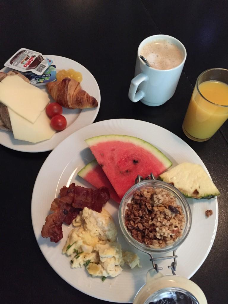 Frukost på Hotel Kong Fredrik
