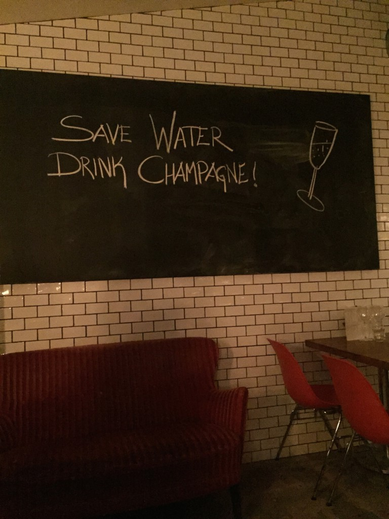 Save Water Drink Champagne