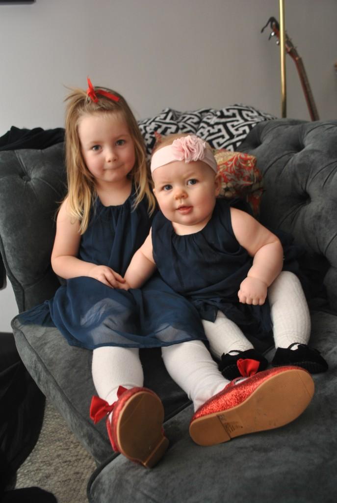 Ester och Linnea