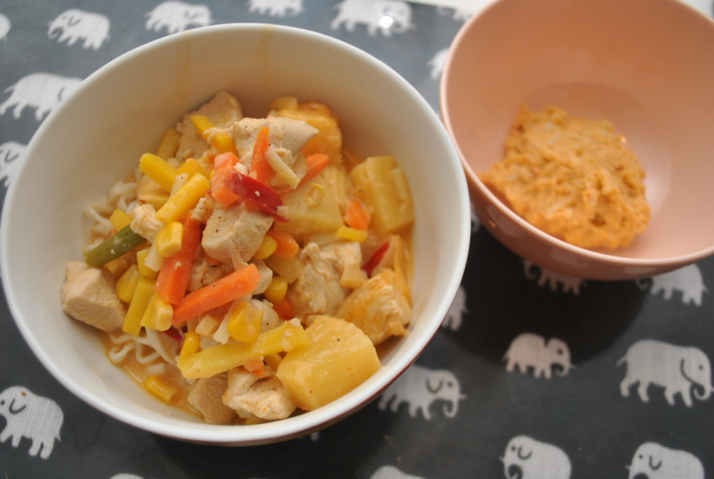 Thaigryta (barnmat)