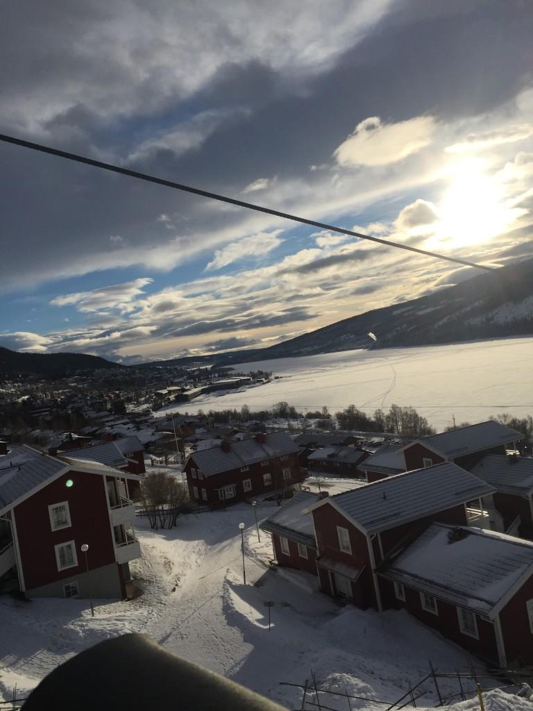 Utsikt över Åre