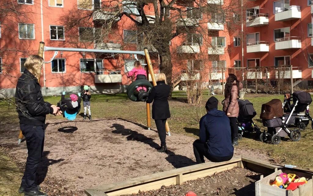 Lek i solen Uppsala