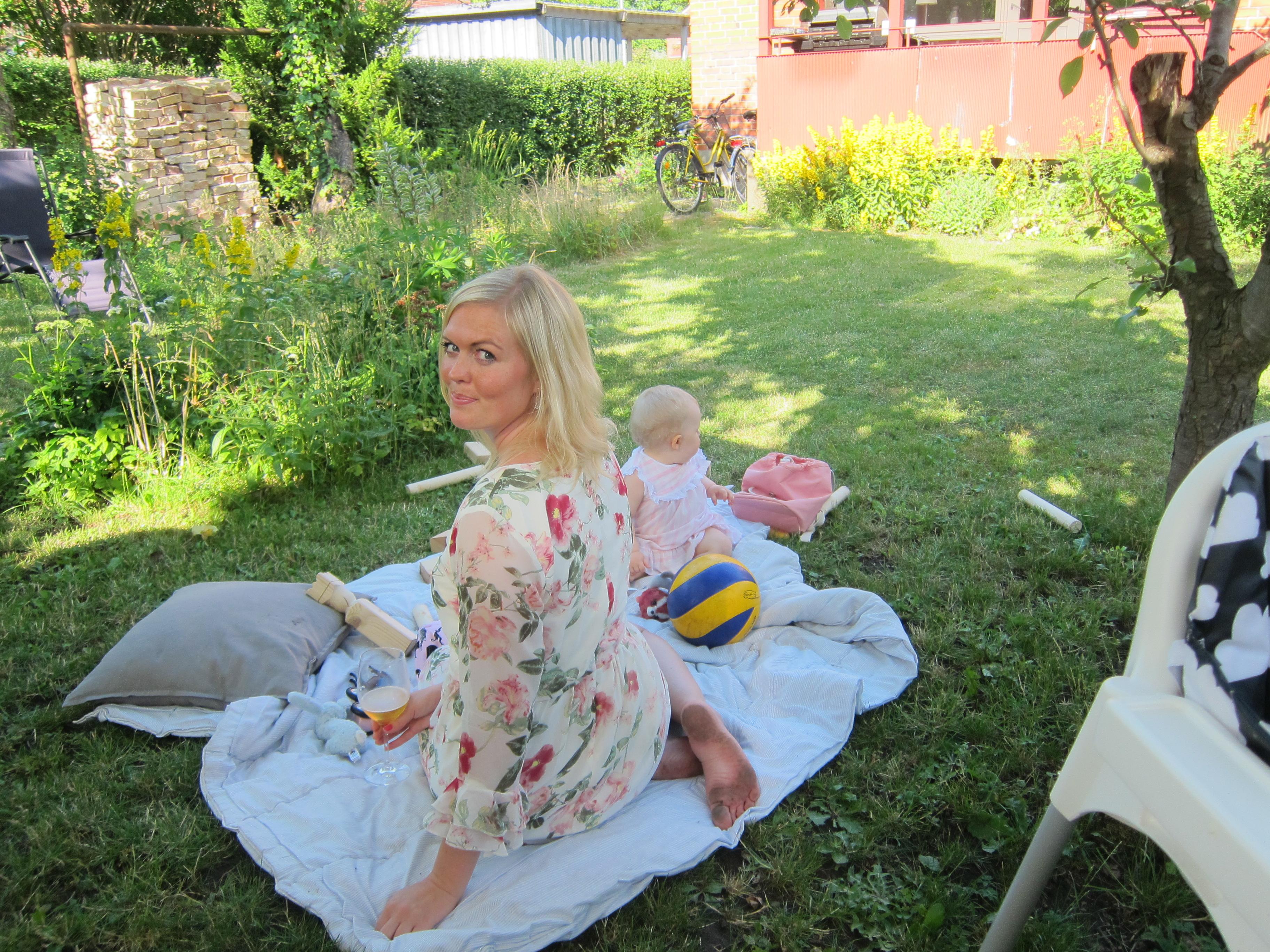 Jag och Linnea midsommar 2016