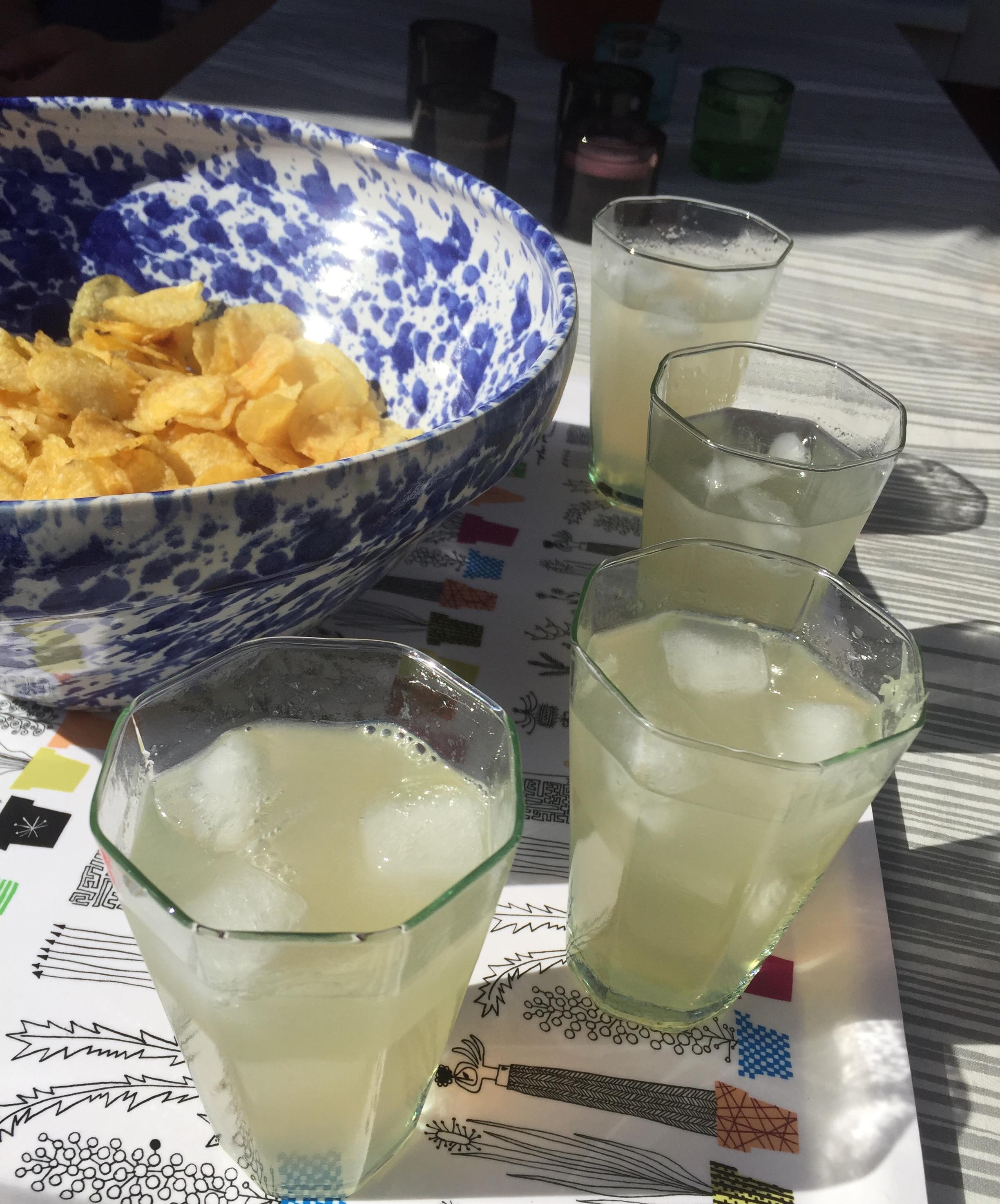 Sommardrink med tequila