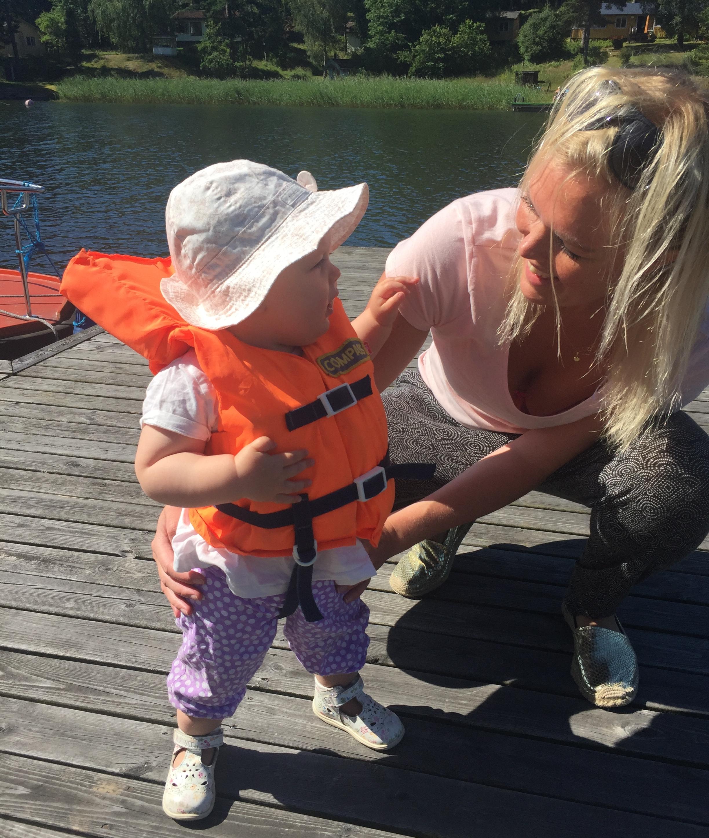 Jag och Linnea Edholma